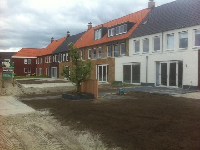 Grondwerk Leeuwarden 9 woningen